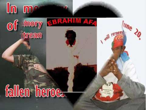"A Song Tribut ""TABA AGAMET"" to martyr Ebrahim Afa by Abeba Haile."