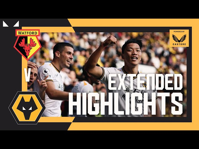 HWANG SEALS THE WIN! | Watford 0-2 Wolves | Extended highlights