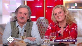 Auteuil, père et fille ! - C à Vous - 15/01/2019