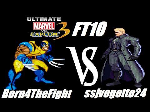 UMVC3 FT10 - Born4TheFight VS ssjvegetto24