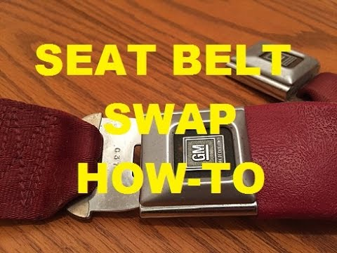 Gbody How To! Replace Seat Belts Classic Gbody Garage
