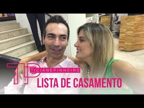 LISTA DE PRESENTES DO MEU CASAMENTO ❣ TICI VAI CASAR #6