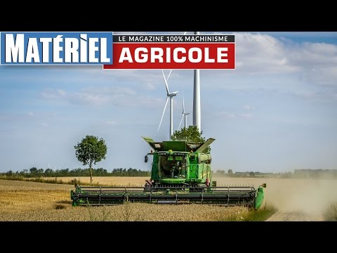 Draper header 35ft  on S680i - Coupe à tapis John Deere 635D 10,7m  by Matériel Agricole