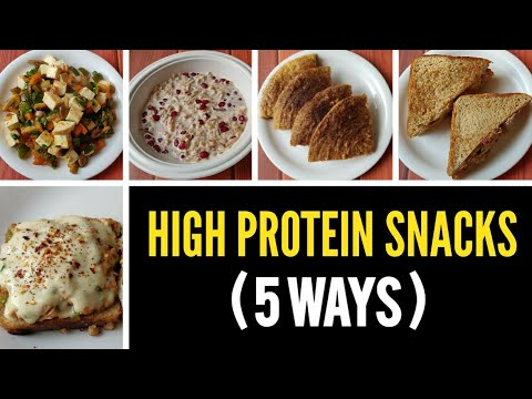 5 TASTY EVENING SNACK OPTIONS!! ( high protein ) ����