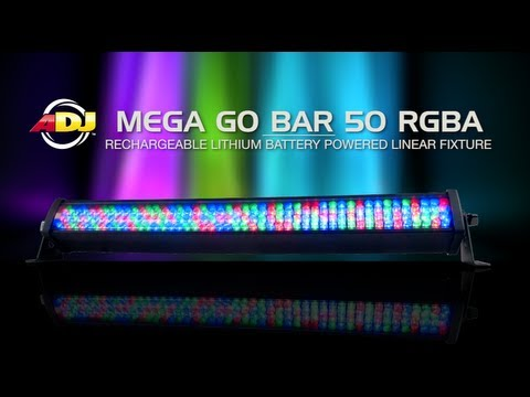 ADJ Mega Go Bar 50 RGBA