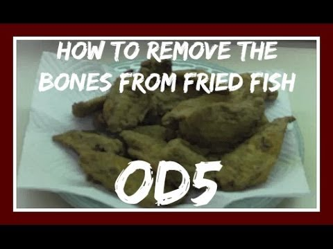 HOW TO EAT FISH WITH BONES