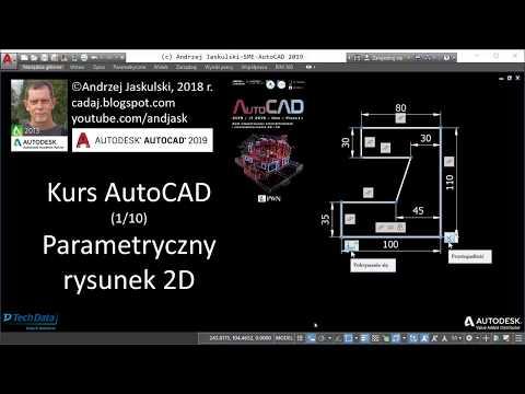 Kurs AutoCAD - #1 Parametryczny Rysunek 2D