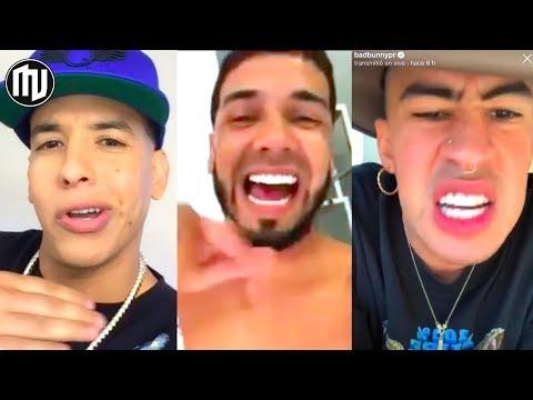 ¡Anuel aclara a Daddy Yankee y dice ser el nuevo líder! | Bad Bunny: Que triste...