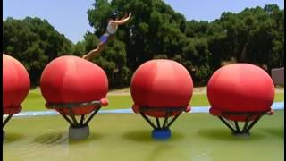 Jessie Graff from ANW on Wipeout on Qualifier!