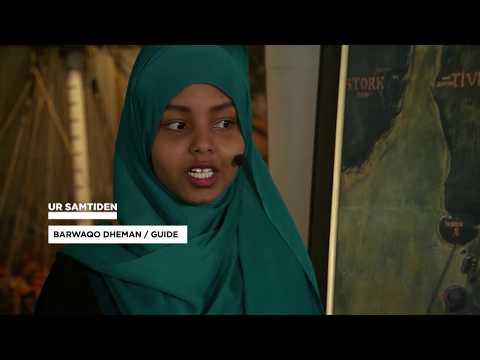UR Guidad tur på Marinmuseum - somaliska