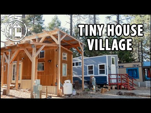 LEGAL Tiny House Village in San Diego with Parking & Rentals