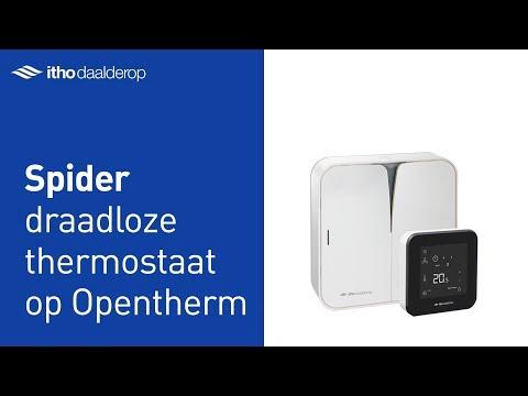 Spider - Draadloze thermostaat op OpenTherm cv-ketel