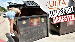 I GOT CAUGHT DUMPSTER DIVING AT ULTA!