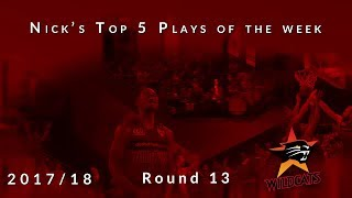 Nick's top 5 Perth Wildcats plays of the week - Round 13