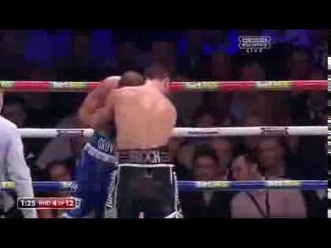 Boxing Carl Froch vs George Groves 23rd Nov 2013