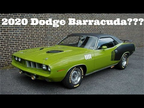 2020 Dodge BARRACUDA ??? ITS REALLY HAPPENING!!! 800+HP