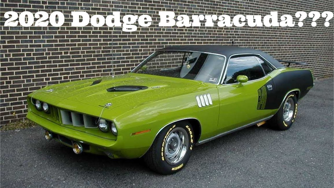 2020 Dodge Barracuda Its Really Happening 800 Hp Youtube