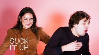 Download David Dobrik Confesses His Crush On Natalie In This Sour Candy Challenge | Suck It Up Mp3 and Videos
