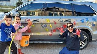 لعب قصص غسيل السيارات للأطفال Heidi و Zidane