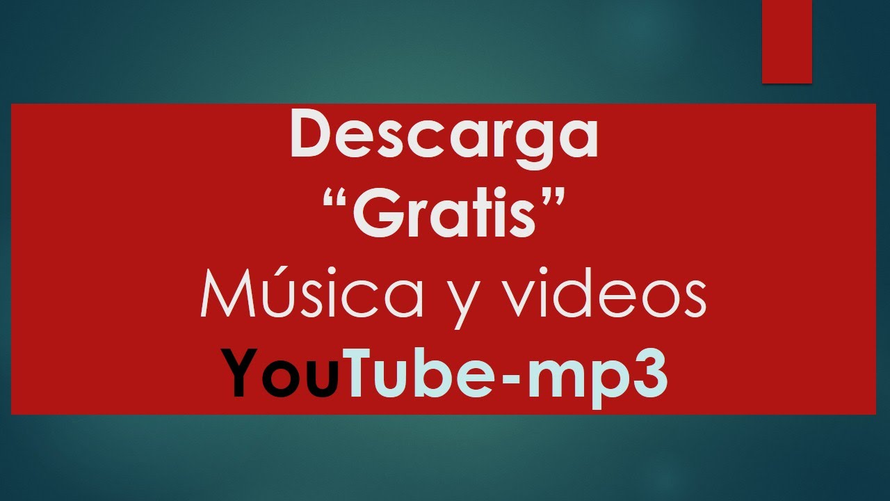 descargar musica youtube sin virus