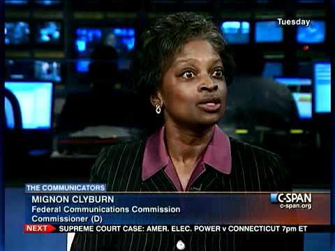 FCC Commissioner Mignon Clyburn (D)