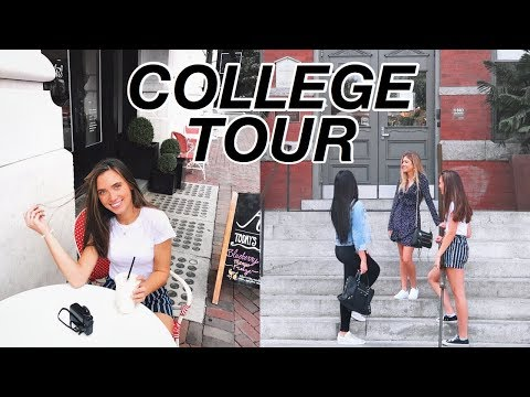 COLLEGE TOUR VLOG (SCAD) | Hannah Meloche