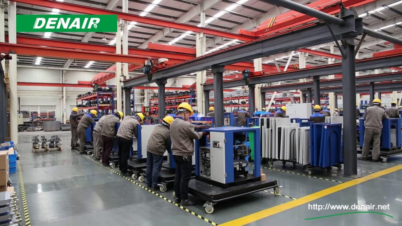Công ty sản xuất máy nén khí trục vít DENAIR