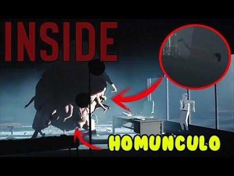 NADANDO DESNUDO Y EL HOMUNCULO | inside final GAMEPLAY ESPAÑOL kilinkar