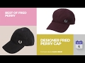 Designer Fred Perry Cap Best Of Fred Perry