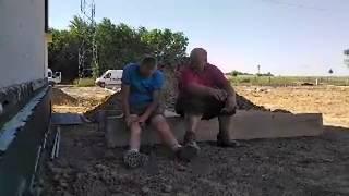 Janusze Budownictwa #1 - rozmowy przy budowie domu 29.05.2018 - Livestream z przymrużeniem oka.