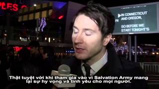 "Owl City's ADAM YOUNG interviewed by SBTN TV @ ""Rock The Red Kettle"" concert"