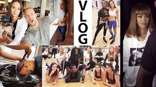Rihanna hautnah erlebt - Tanzworkshop mit vielen Youtubern - Discobesuch - MEGA VLOG