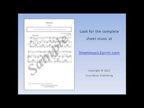 The Nutcracker : Lullaby - Violin Sheet Music
