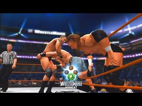 WWE 2K14: 30 Years of WrestleMania - Ruthless Aggression Era - 12 (Orton vs HHH vs Cena - WM 24)
