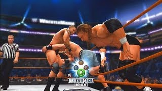 WWE 2K14: 30 Years of WrestleMania - Ruthless Aggression Era - 12 (Orton vs HHH vs Cena - WM 24)