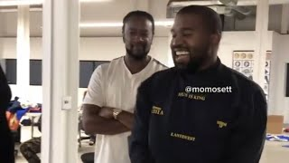 """Kanye West jamming oขt to """"On God"""" behind the scenes of making 'Jesus Is King' album"""