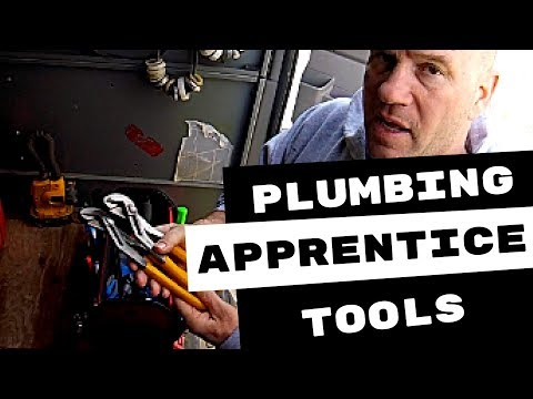 PLUMBING APPRENTICESHIP-WHAT TOOLS DO I NEED?