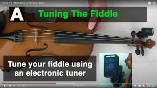 Tuning The Fiddle Using An Ele…