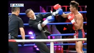 Wing Chun Master Joins Muay Thai Competition - Gets Destroyed