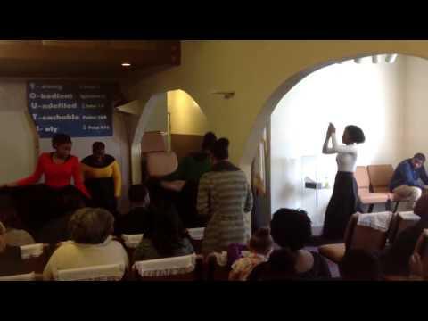 El Shaddai Christian Church Praise Dance Team (Video 2 of 2)