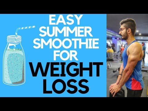 Best Summer Smoothie for Weight Loss | Easy Recipe