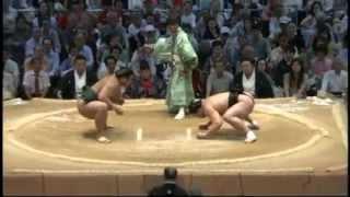 高安2度目の金星 sumo harumafuji takayasu.