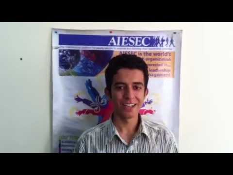 AIESEC in Armenia Hello World Project invitation for AIESEC in Iran