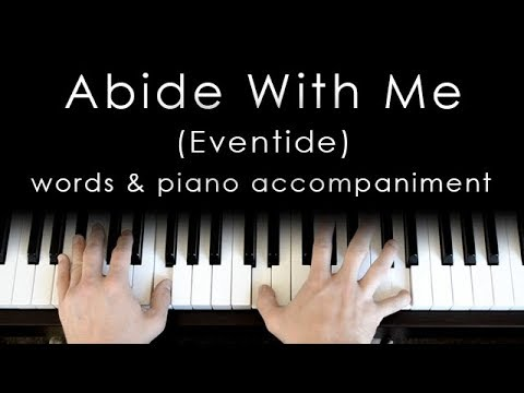 Abide With Me - words & piano accompaniment