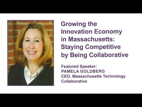 Pamela Goldberg at SBANE - Growing the Innovation Economy in Massachusetts