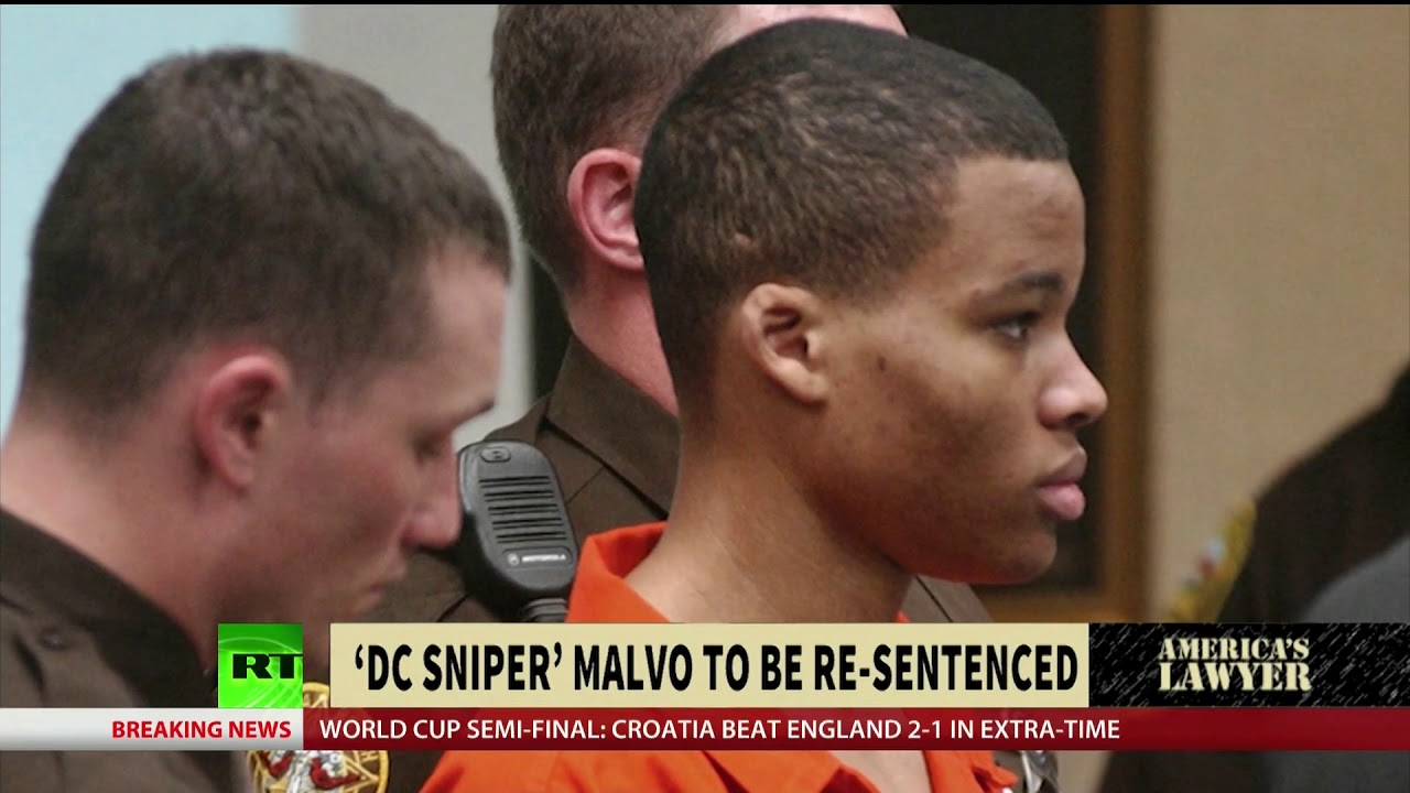 'DC Sniper' Malvo To Be Re-Sentenced