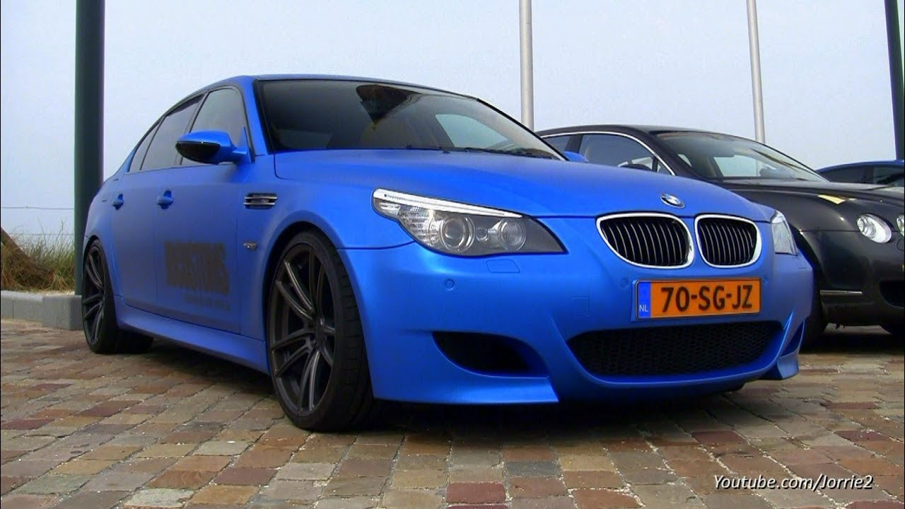2x bmw m5 v10 loud sounds w eisenmann exhaust 1080p hd youtube. Black Bedroom Furniture Sets. Home Design Ideas