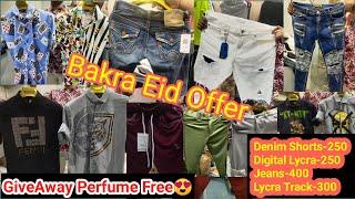 Imp Denim Shorts | Digital Lycra Shirts | Double Pocket Cargo | Imp Lycra Pants |Bakra Eid|GiveAway