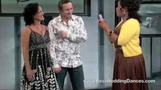 Dirty Dancing Wedding Dance Couple on Oprah - Julia and James