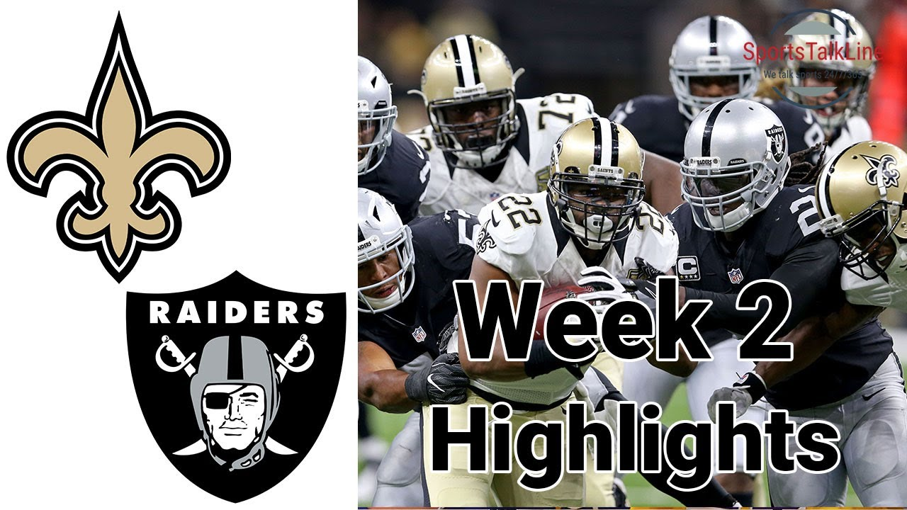 Raiders Take Saints on MNF